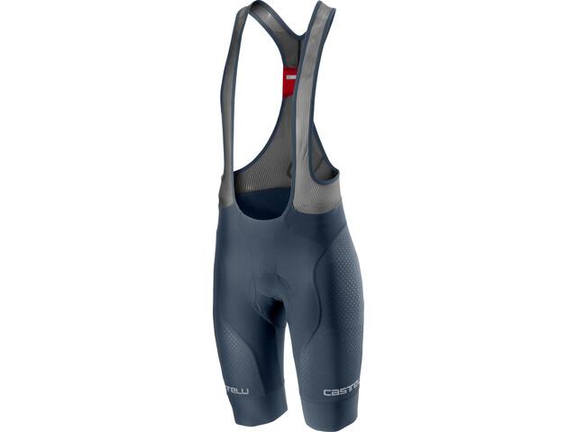 Castelli Free Aero Race 4 Team Short de cyclisme Homme, dark/steel blue